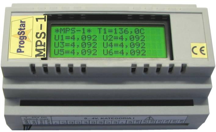 Moduł pomiarowy MPS-1 z wyświetlaczem LCD