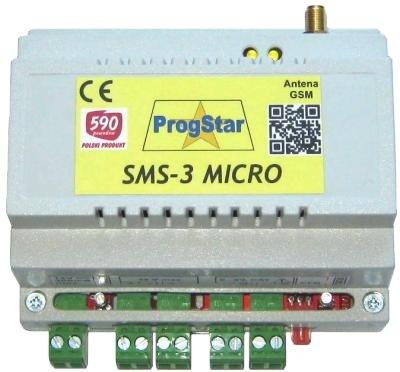 Moduł zdalnego sterowania SMS-3 MICRO